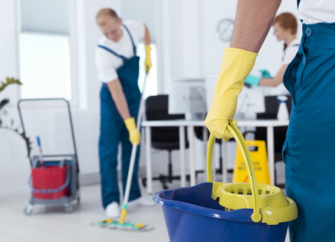 Commercial Cleaning Business Specializing in Offices