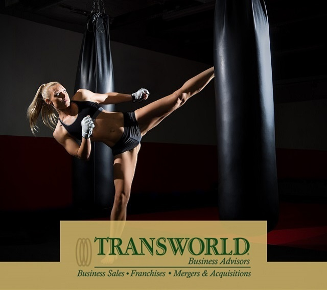 Franchised kickboxing gym great location