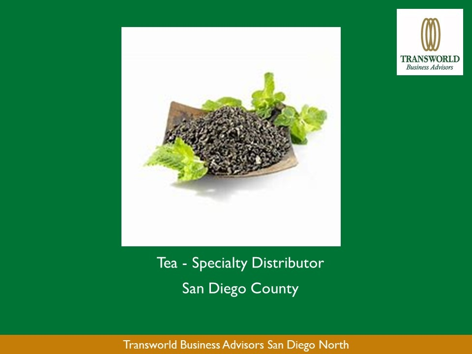 Tea -Specialty Distributor