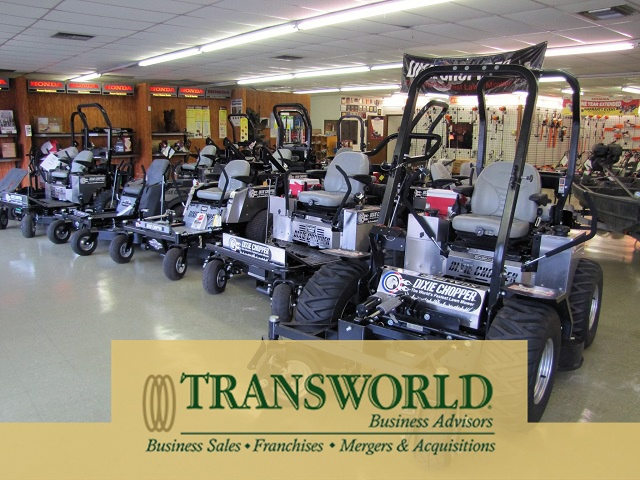 Outdoor Power Equipment Store with Real Estate