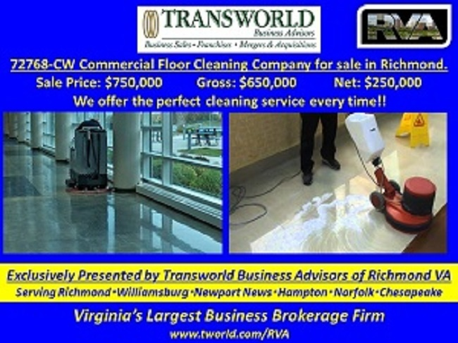 72768-CW COMMERCIAL FLOOR CLEANING SPECIALIST.