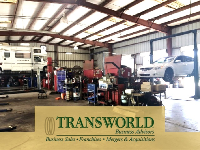 Auto, Truck & RV Repair with Real Estate