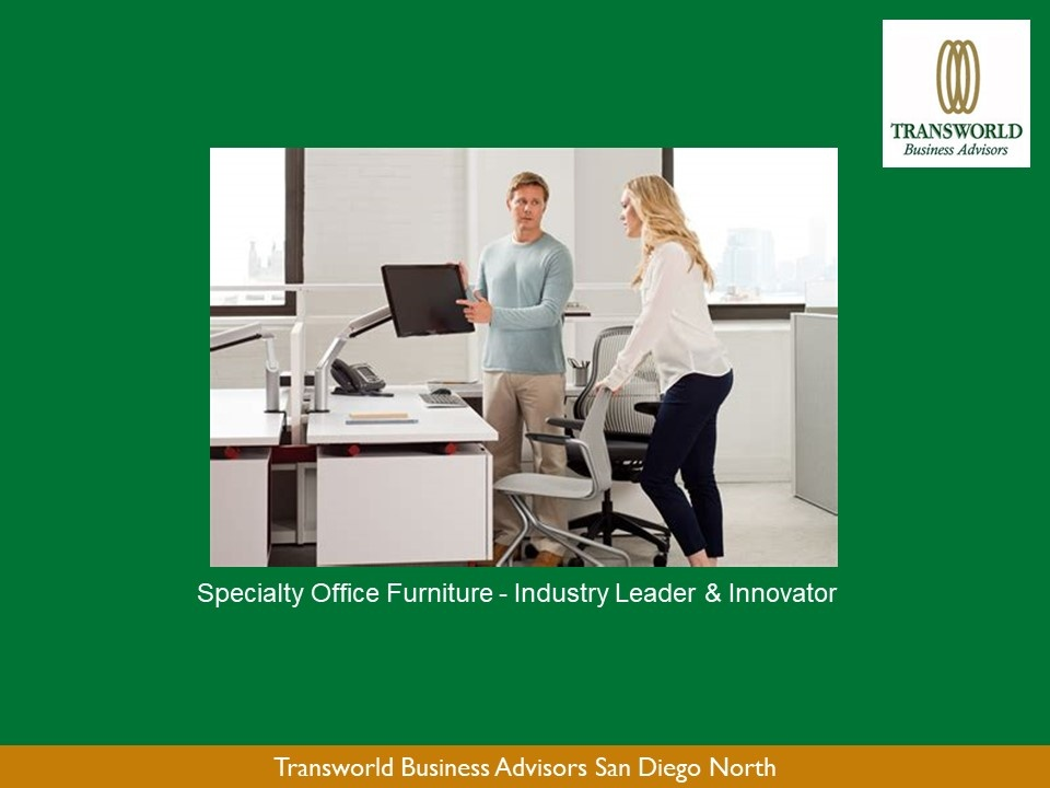 Specialty Office Furniture Business – B2B - SBA Lending Reviewed