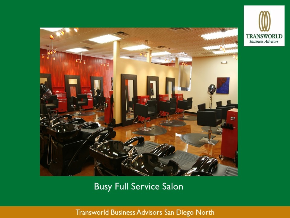 Sweet location for a salon professional in Del Mar, CA
