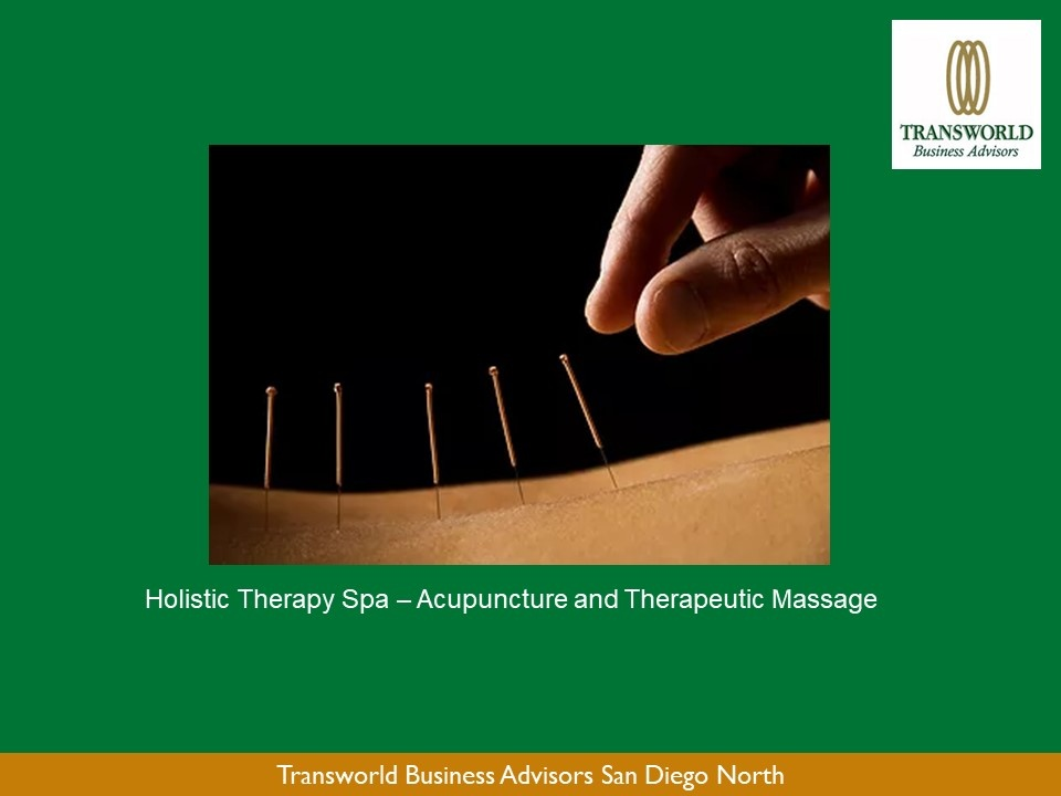 Holistic Therapies - Acupuncture and Therapeutic Massage
