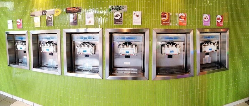 Turnkey Self-Serve Frozen Yogurt Store with Great Potential