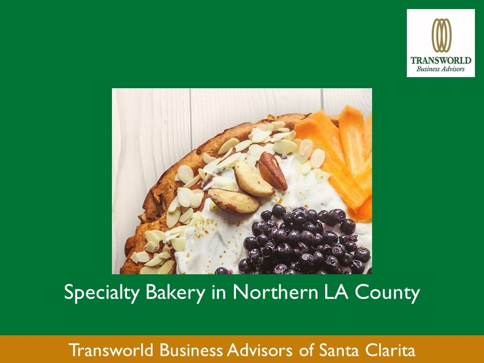 Specialty Bakery in Northern LA County