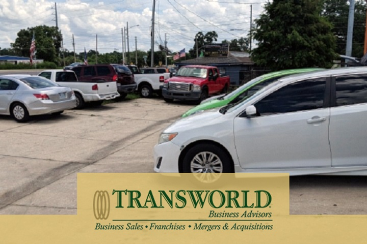 West Orlando Car Lot with 3 Double Bays