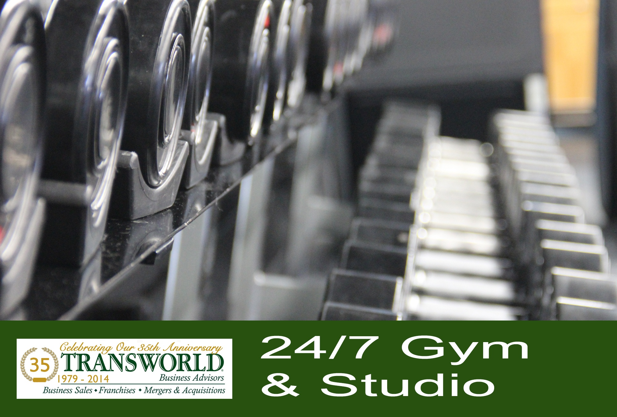 Profitable hands-off 24/7 Gym with fitness studio.
