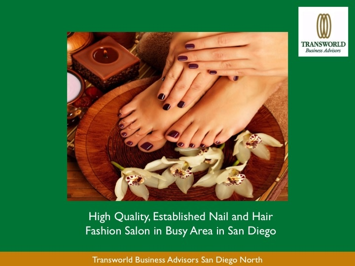 Busy and Established Nail and Hair Fashion Salon