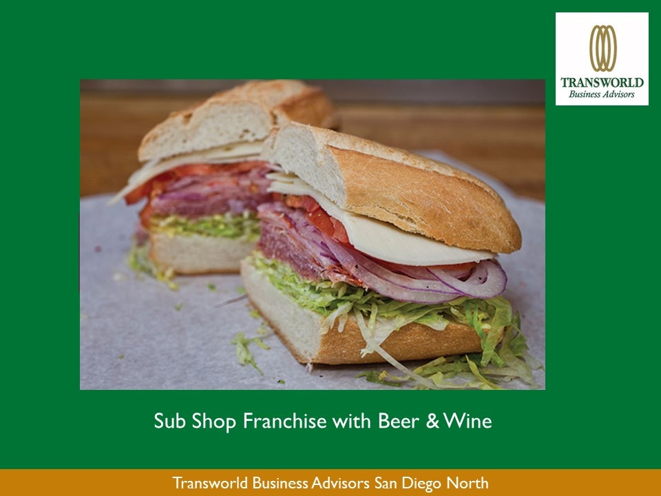 ABSENTEE - Sub Shop Franchise with ABC 41 in Oceanside