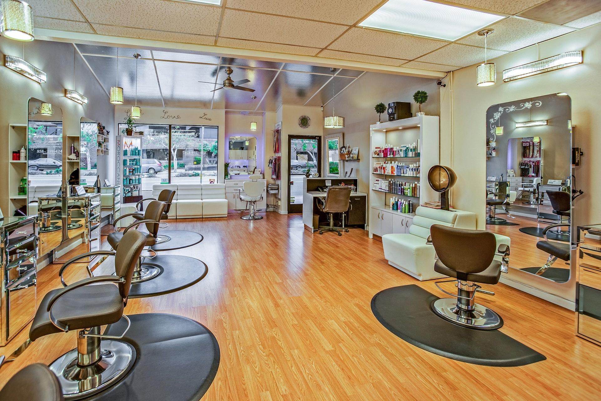 Motivated sellers of a salon in North Atlanta, GA.