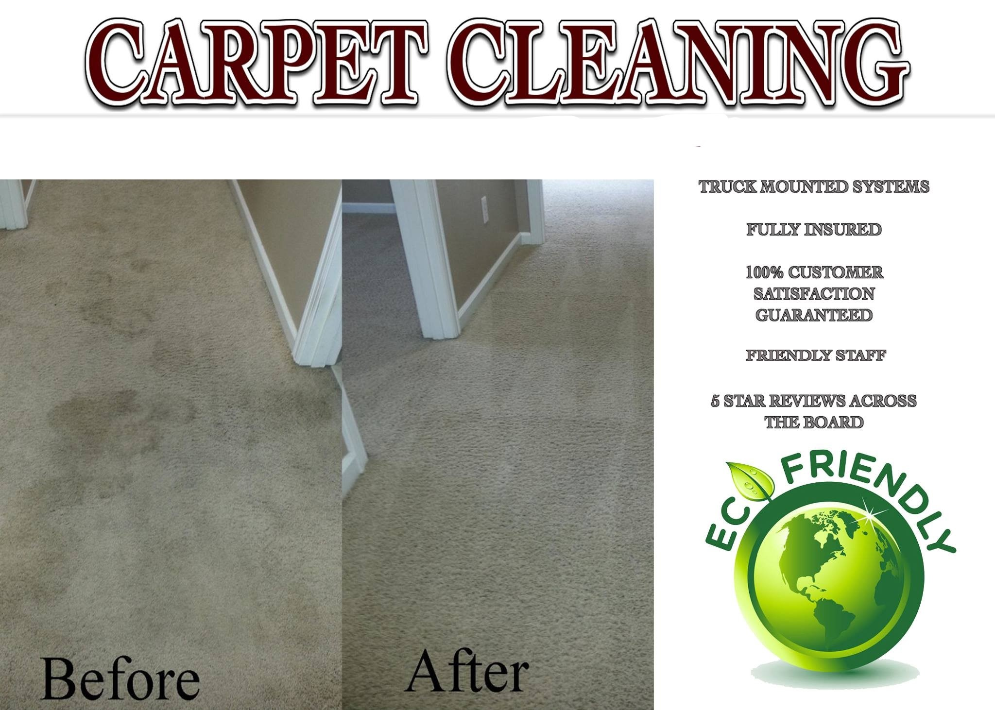 Diversified Eco-Friendly Carpet Cleaning Business in Aggieland!