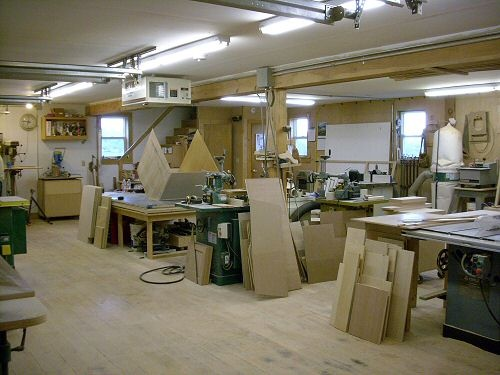 Amazing woodworking shop