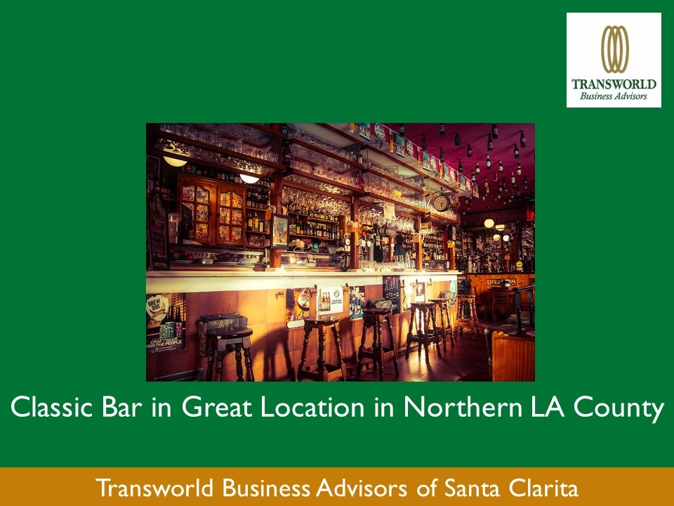 IN ESCROW-Classic Bar in great location