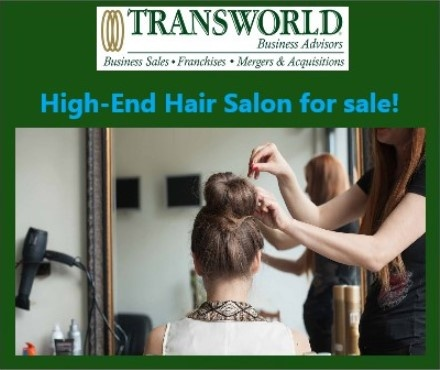 High-End Hair Salon for sale!