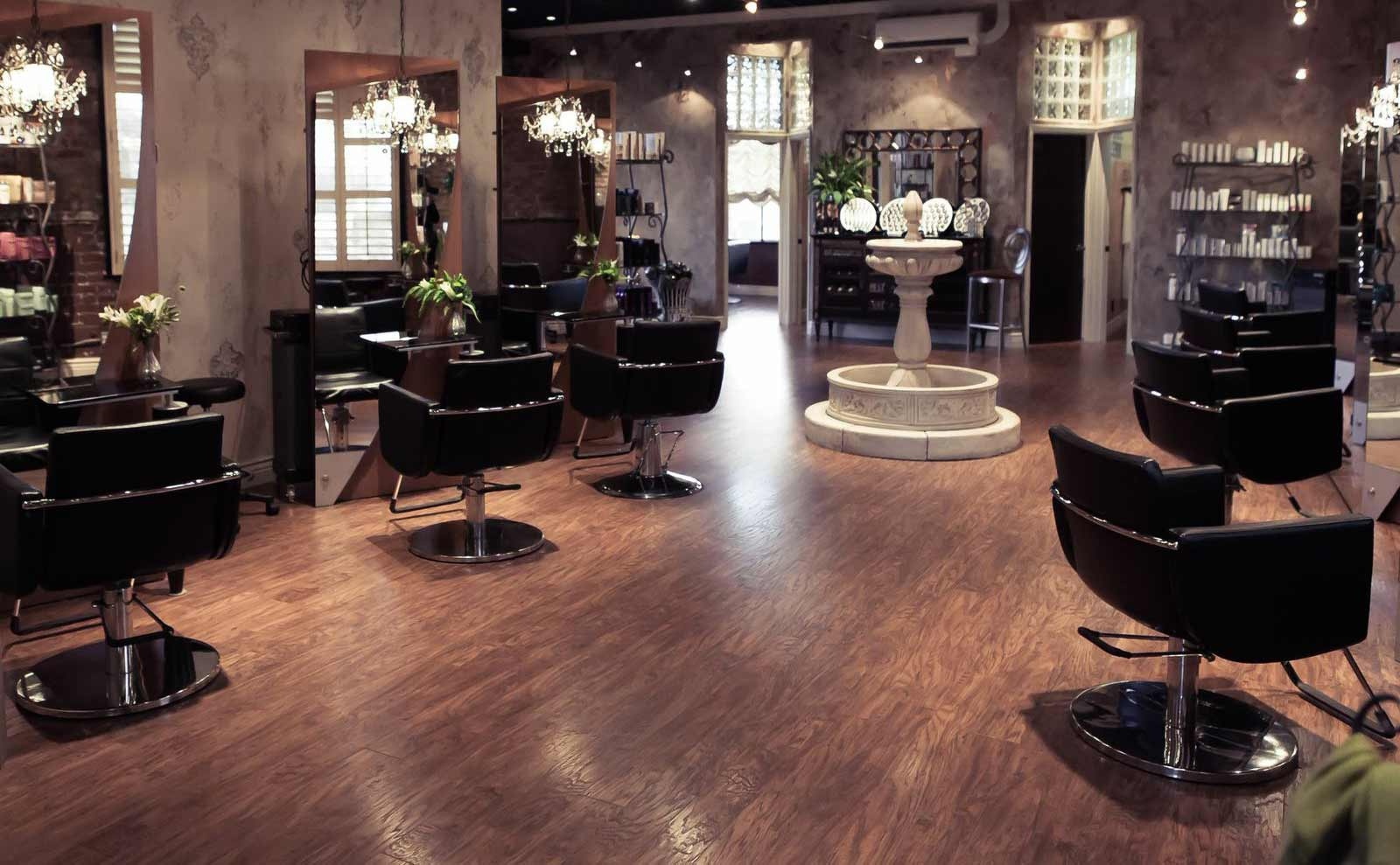 Elegant Hair Salon in Center of Town