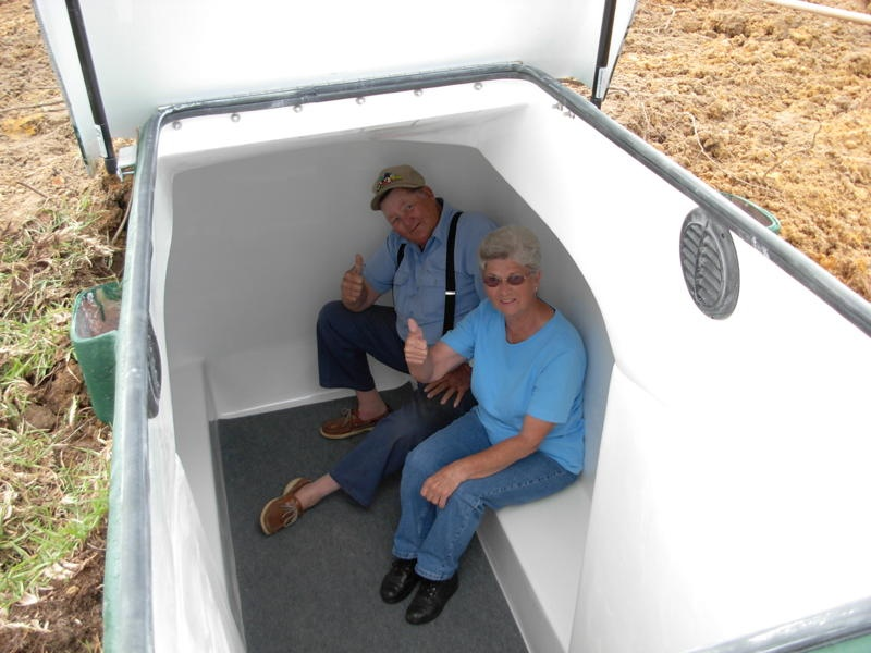 Exciting Fiberglass Storm Shelter Product Line For Sale