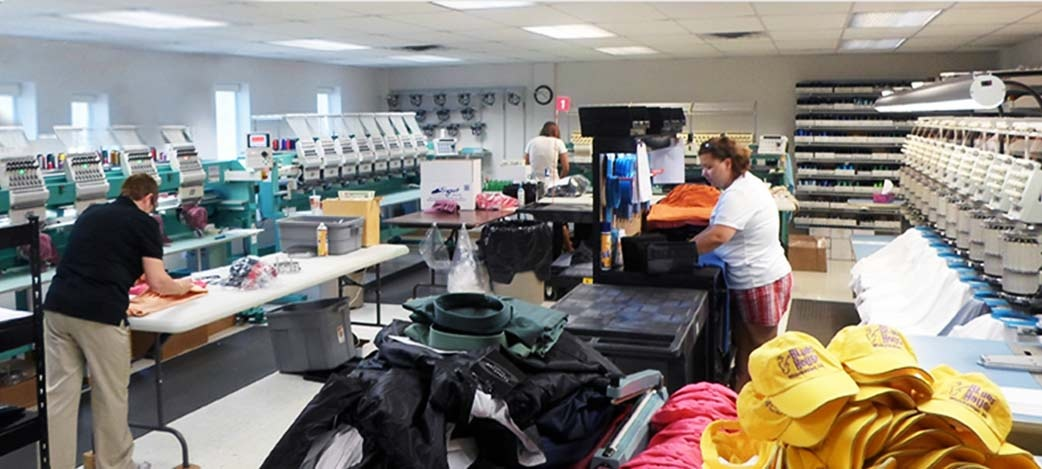 Established Embroidery/Screen Print Shop