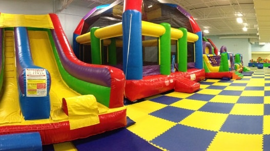 Indoor Inflatable Bounce House Playground Guilford County, NC