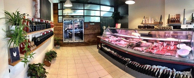 Butcher Shop Richmond, High Foot Traffic, Professional Set up, wi