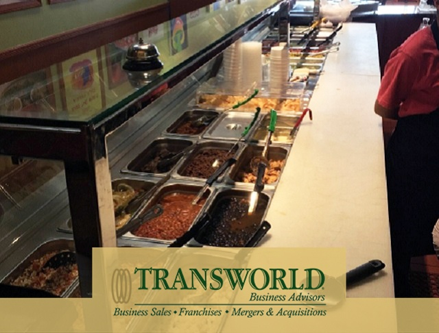 Profitable Mexican Grille, Fresh Food, Mall Food Court Loc.