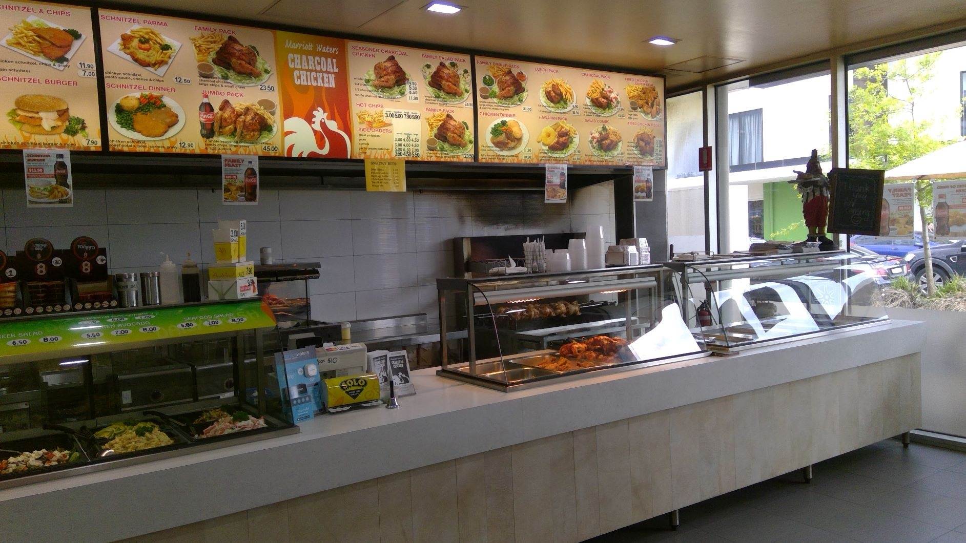 IMMICULATE CHARCOAL CHICKEN SHOP FOR SALE LYNDHURST $85 K