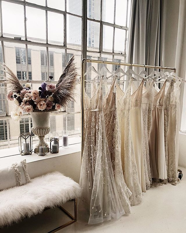 Busy Boutique Bridal Salon-NYC