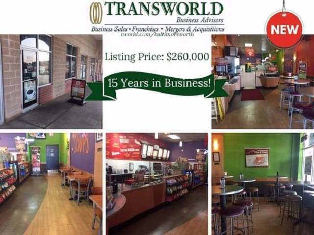 Profitable Established Sandwich Franchise in Busy Location