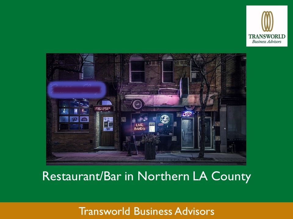 Northern LA County Restaurant/Bar