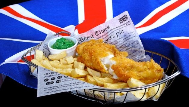 Fish and Chip Shop – British Style