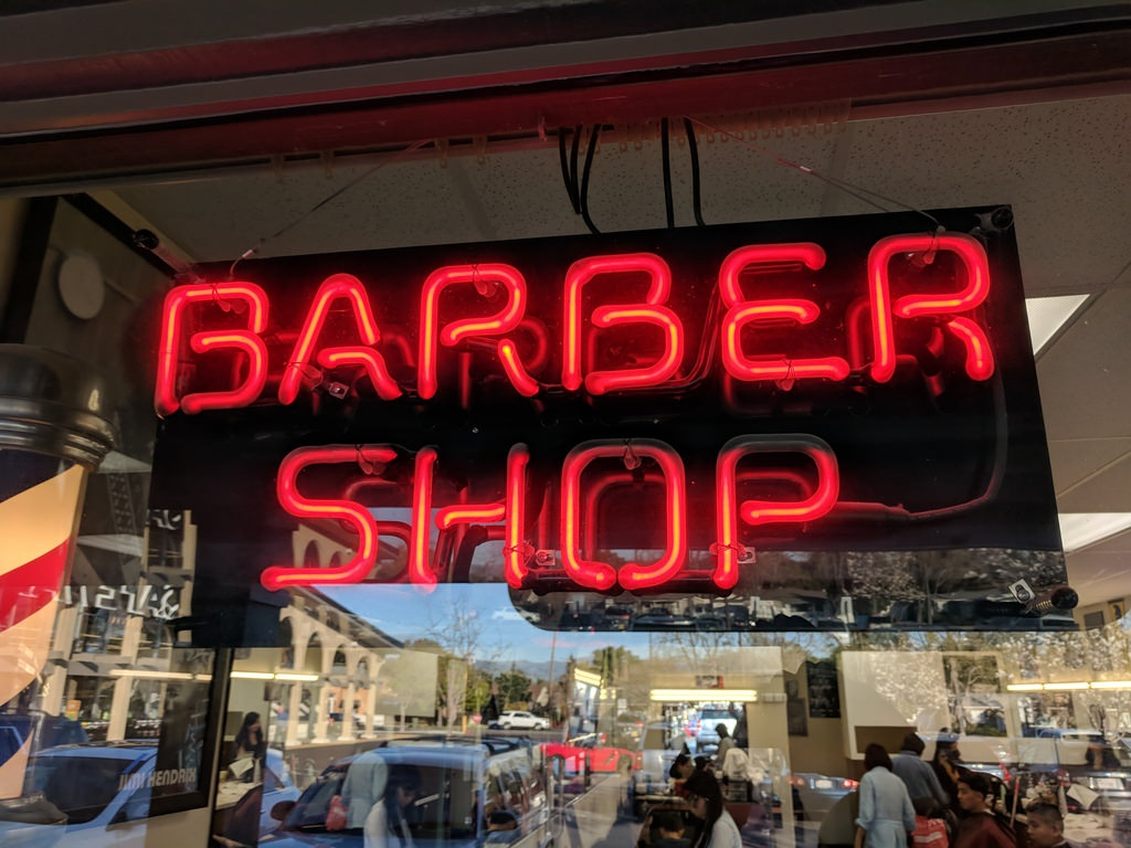 Two Businesses in One - Barbershop and Microblading Salon