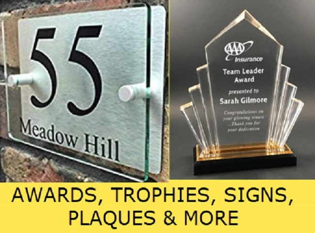 Awards, Signs, Engraving Service & Retail