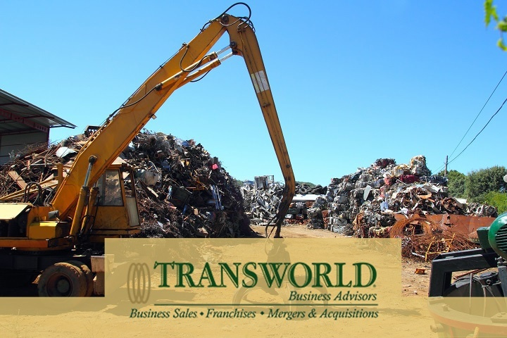Thriving 50 yo Aerospace Scrap Metal Recycling Seller Finance