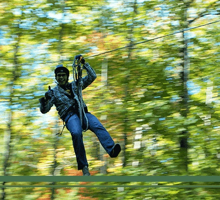 NEW PRICE! Outdoor ZIpline/Canopy Tour