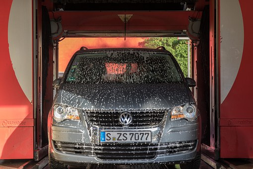 High Profit Car Wash with Property