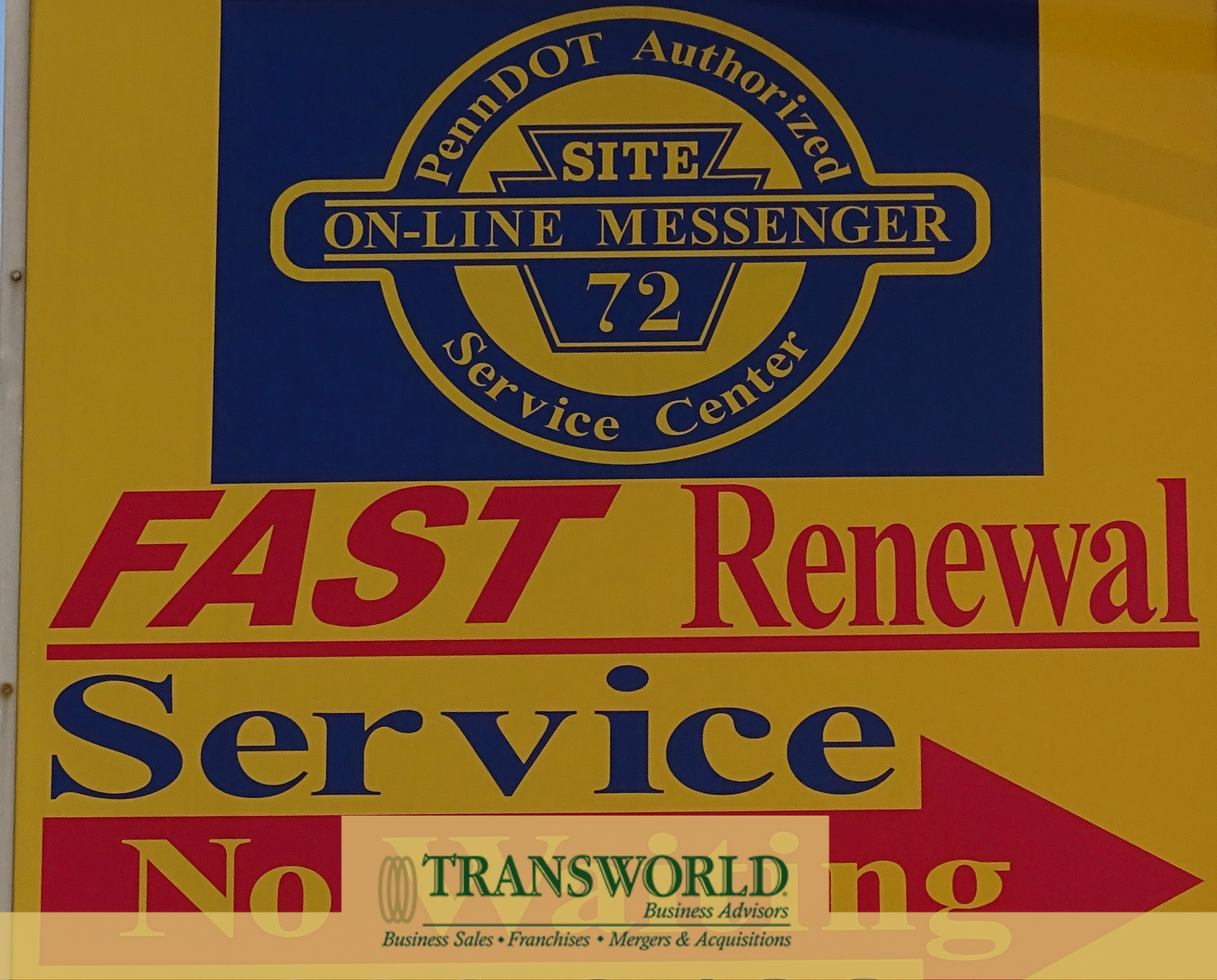 PennDot Franchised Cash Auto Service Business