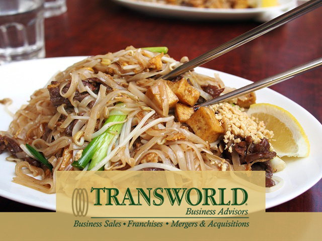 Chinese restaurant, full service, established over 20 years