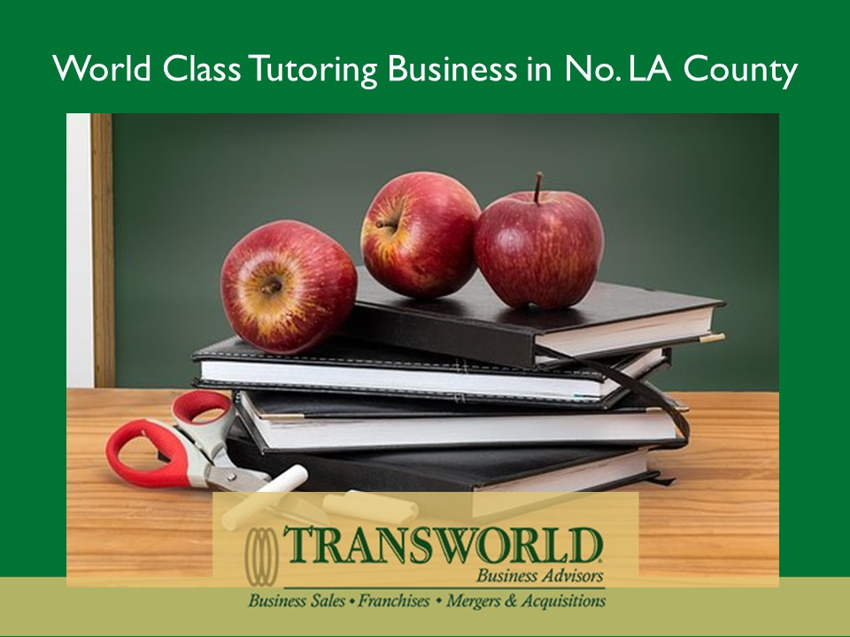 World Class Tutoring Business in No. LA County