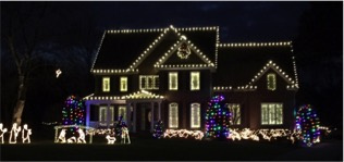Professional Holiday Decorating Installation Service
