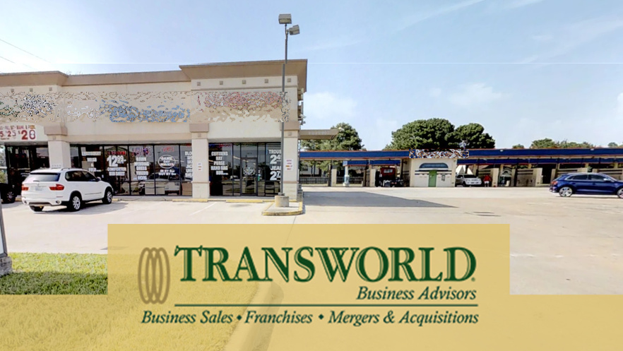 Dry Cleaners and Car Wash with Real Estate