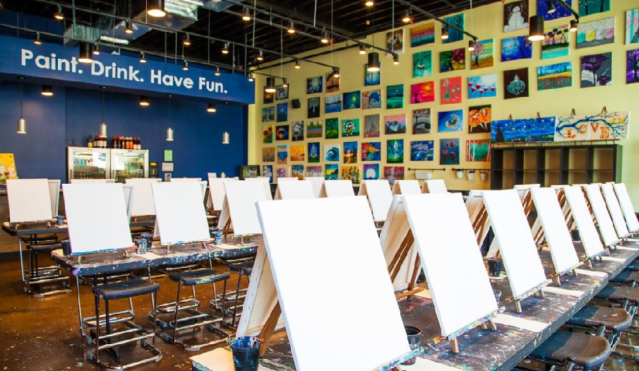 Waterfront Paint and Sip franchise.