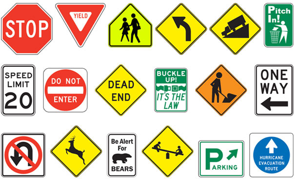 Manufacturer & Marketer of Street & Road Signs
