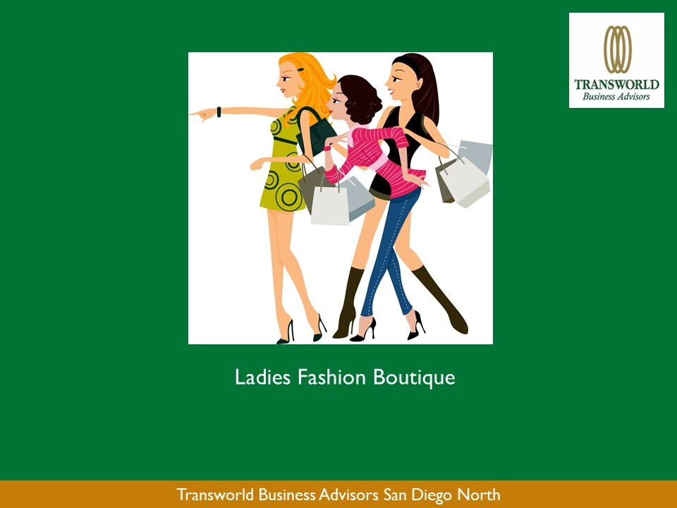 Ladies Fashion Boutique – Exclusive Brand - Premier Coastal Town in San Diego