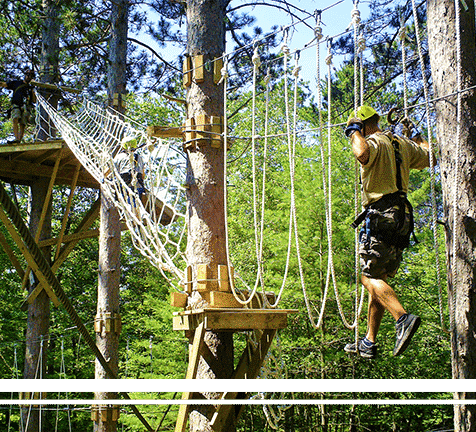Unique Successful Outdoor ZIpline/Canopy Tour business located in the Beautiful North Woods of the Upper Midwest
