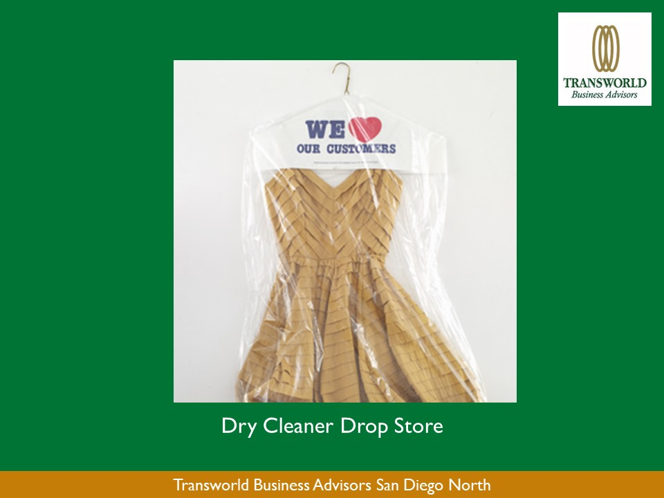 20 year Dry Cleaning Drop Store in Oceanside