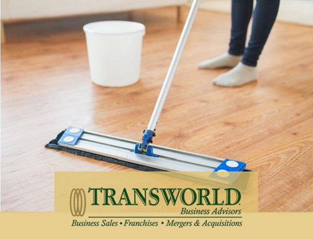 Janitorial with 100% Commercial Accounts - Franchise Operation