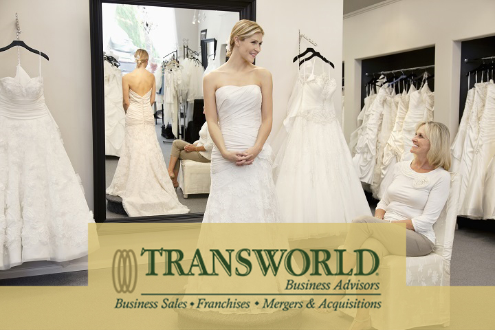 Five Star Rated Bridal Boutique Priced to Sell!