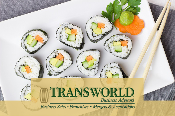 Established Sushi Restaurant, Room For Growth