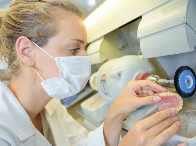 Dental Lab Specializing in Framework and Dentures